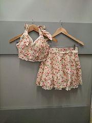 LIZ LISA☆チェック×フルーツ柄セットアップ