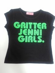 ジェニィJENNIロゴTシャツ110ブラック