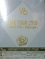 V6 LIVE TOUR 2015-SINCE1995�`FOREVER�` ���񐶎Y�����A