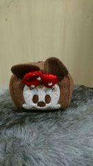 CUBE型 ミニーマウス マスコット キーホルダー