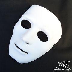 ヒップホップ ダンスマスク MASK お面 白 ホワイト 192 B系