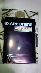 ソードアート・オンライン 特大ポスター&デュラララ!!×2 クリアファイル