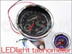 モンキー ゴリラ エイプ50汎用 LEDバックライト タコメーター