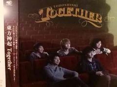 激安!超レア!☆東方神起/Together☆初回限定盤/CD+DVD☆超美品!