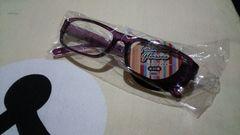 新品 伊達眼鏡 だてめ めがね 紫 パープル