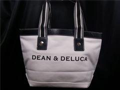 ディーン&デルーカ Dean&Deluca トートバッグ S 白 296