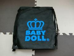 ♪未使用品 BABYDOLL ナップサック型ショップ袋♪