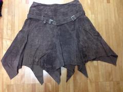 SCOT、本革スカート、送料込み
