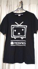 大きいサイズ3L ニコニコ動画Tシャツ バックプリント有り 新品