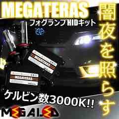 mLED】ランドクルーザーシグナス100/フォグランプHIDキット/H3/3000K