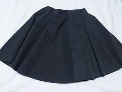 ザラ ZARA スカート 25 グレー