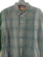 291295=HOMME チェックシャツ