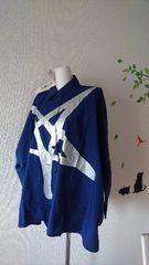★viviヴィヴィアン*アングロマニア新品オーヴ刺繍starゆるデカチュニオーバーシャツ