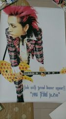 X JAPAN hide � �X�^�[ �q�f �C�G���[�n�[�g
