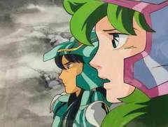 聖闘士星矢 ドラゴン紫龍&アンドロメダ瞬のセル画
