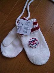 新品ハッシュアッシュ子供用紐付き手袋ブランド