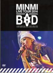�V�i����MINMI LIVE TOUR 2014 BAD �~���~�@DVD�@�Q���g