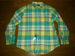 新品POLObyRalphLaurenポロラルフローレンチェックシャツXL黄
