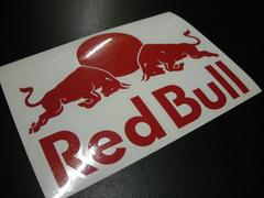RED BULL�@���b�h�u�� �X�e�b�J�[ 25cm