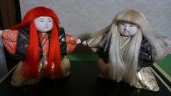 日本人形2体セット