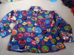 ミキハウス 少し厚手のシャツ 新品未使用 サイズ100