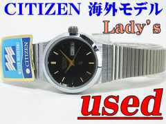 USED!! CITIZEN �C�O���f�� Lady's �N�H�[�c�@075307
