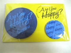 嵐 Are You Happy? 札幌限定バッチ 大野智 青 1個 送料百円〜