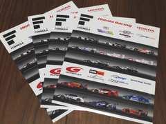 HONDAレーシングステッカーF1ステッカーシールコレクター