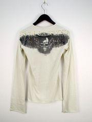 LGBルグランブルー DEADorALIVE装飾カットソー ロンTシャツ