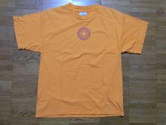 即決USA古着●ナイキNIKEロゴデザインTシャツ橙!アメカジビンテージ