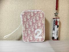 10スタ★新品未使用★ディオール:トロッター柄ポーチ2点セット