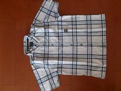 美品★BADBOY チェック 半袖Tシャツ 130