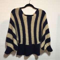 ブラウンシュガー デザインセーター