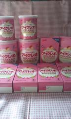 委託品☆アイクレオのバランスミルク 大缶2・小缶2・スティックタイプ6箱☆オマケつき
