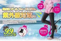 送料無料即決■海水浴・プール・ウォーキングに!脚長トレンカ