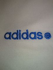 adidas アディダス NEO LABEL シンプル ポロシャツ トリコロール Mサイズ ホワイト