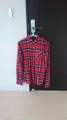 メンズ チャオパニック チェックシャツ M