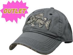 OUTLET コットン OUTDOOR CAP 帽子 グレー REALTREE M687