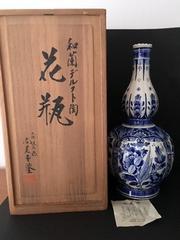 尚美堂 デルフト 花瓶 壺