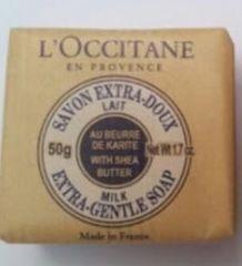 限定セール★ラスト1点!ロクシタン/L'Occitane★シアソープミルク50g