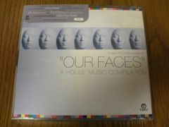 CD OUR FACES〜A HOUSE MUSIC COMPILATION
