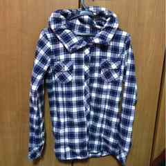 チェックシャツ!