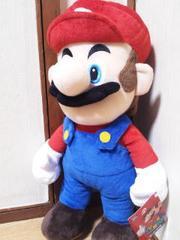 SUPER MARIO/スーパーマリオ特大サイズぬいぐるみマリオ45�pマリオ