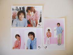 【KAT-TUN 赤西仁 ジュニア時代】公式写真 3枚