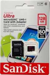 SanDisk マイクロSDXCカード(サンディスクmicroSD128ギガ)128GB 送料無料