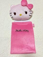 新品*まつ毛キティ*トイレットペーパーホルダー姫系ピンク