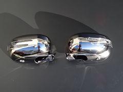 クライスラー 300C LEDドアミラーカバー アロータイプ ブラッククローム