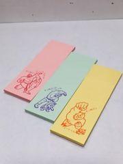 付箋紙クジ キン肉マン ペーパーマーカー 20枚×3袋 【送料無料】