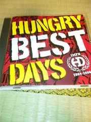 ベストCD HUNGRY DAYS BEST DAYS ハングリーディズ