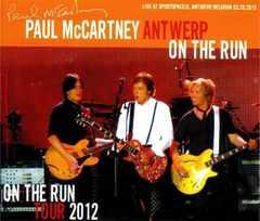 Paul McCartney ポールマッカートニー Belgium 2012 (3CD 1DVD)